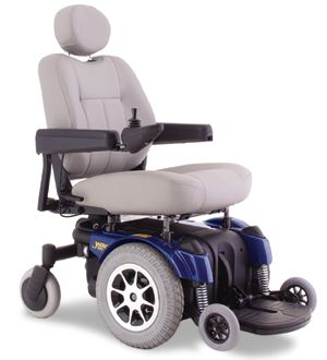 JAZZY PRIDE Quantum Jazzy 1121 Wheelchair For Sale - DOTmed